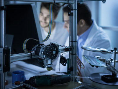 New Method of 3D Printing Biomaterials for Tissue Engineering Developed
